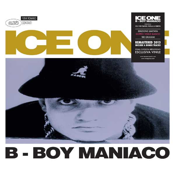 ICE ONE – B-BOY MANIACO
