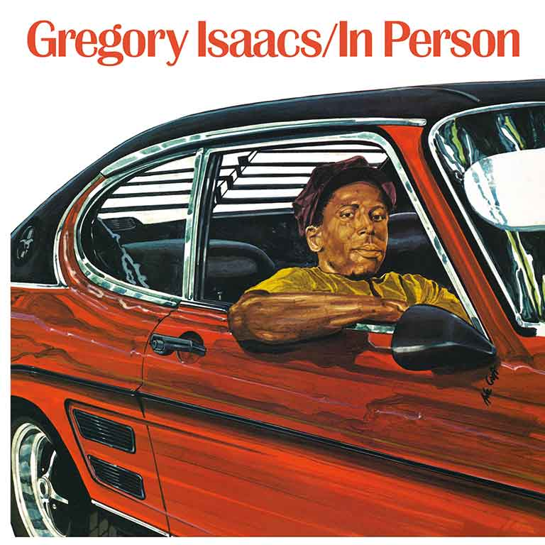 GREGORY ISAACS – IN PERSON