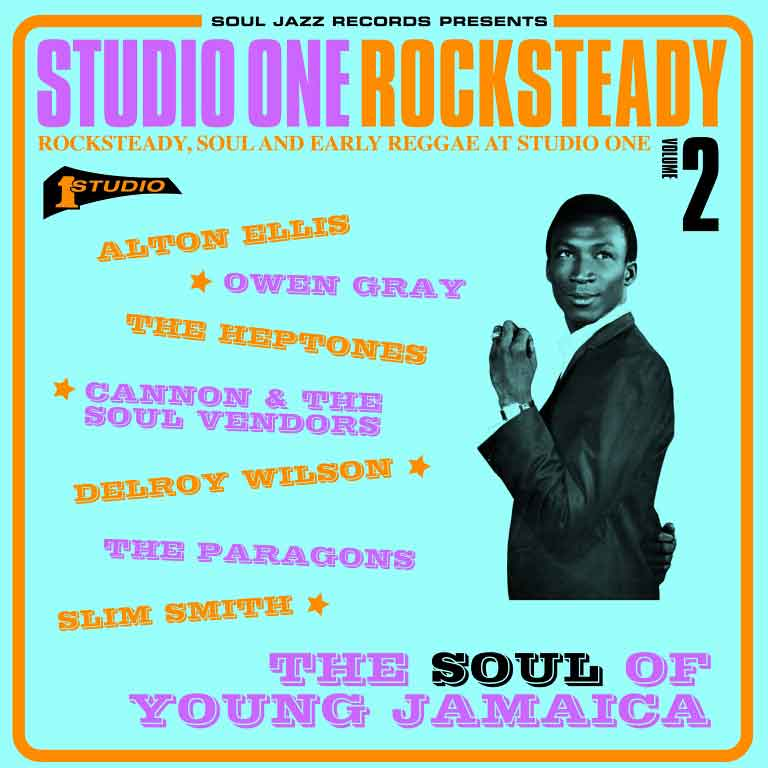 STUDIO ONE ROCKSTEADY VOLUME 2 LP