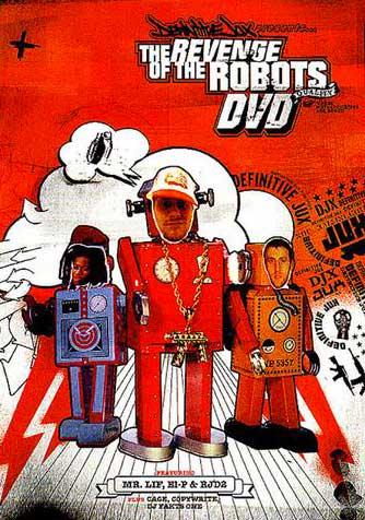 THE REVENGE OF THE ROBOTS – DVD