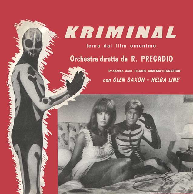 ROMANO MUSSOLINI, ORCHESTRA ROBERTO PREGADIO, ANTÓN GARCÍA ABRIL – KRIMINAL / IL COBRA