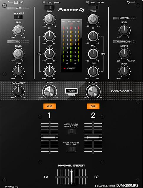 PIONEER DJM-250MK2 Mixer a 2 canali