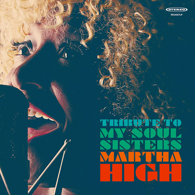 MARTHA HIGH – TRIBUTE TO MY SOUL SISTERS LP