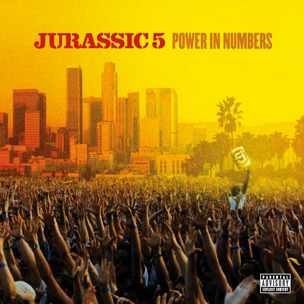 Jurassic 5 ‎– Power In Numbers LP