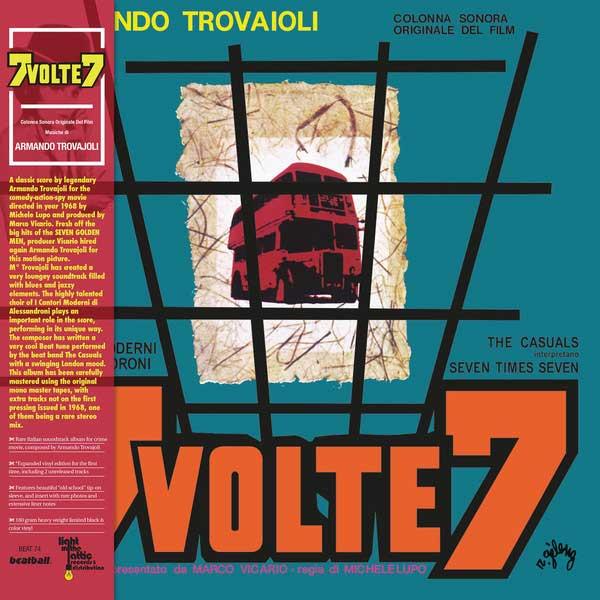 Armando Trovajoli – 7 Volte 7 LP