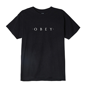 NOVEL OBEY BASIC T-SHIRT