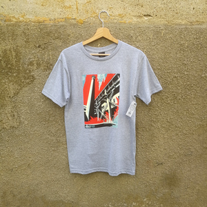 OBEY FOSSIL FACTORY BASIC T-SHIRT