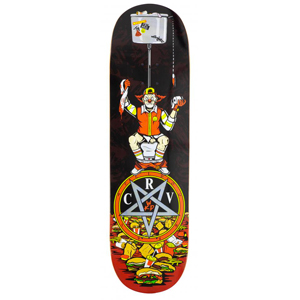 CARVE WICKED DECK POO IN DONALDS