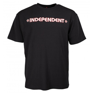 INDEPENDENT BAR CROSS T-SHIRT BLACK