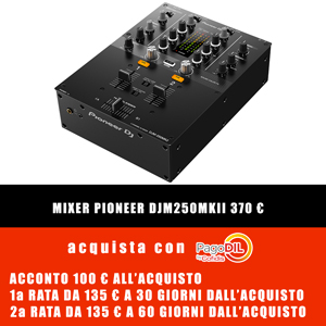 MIXER 2 CANALI PIONEER DJM-250MK2