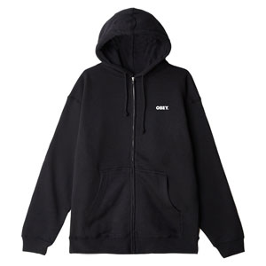 OBEY BOLD PREMIUM ZIP HOODED