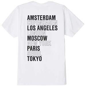 OBEY INTERNATIONAL CITIES TSHIRT