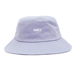 OBEY BOLD BUCKET HAT GOOD GREY
