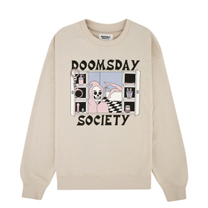 DOOMSDAY CABINET OF CURIOSITIES CREWNECK