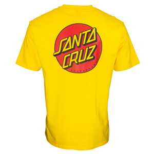 SANTA CRUZ CLASSIC DOT CHEST TSHIRT