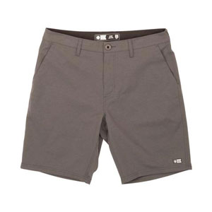 SALTY CREW DRIFTER 2 CHARCOAL PERFORATED SHORTS