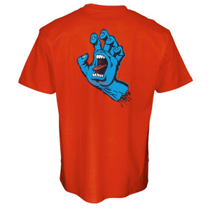 SANTA CRUZ SCREAMING HAND CHEST TSHIRT